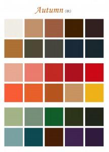「パーソナルカラー  オータム」の画像検索結果